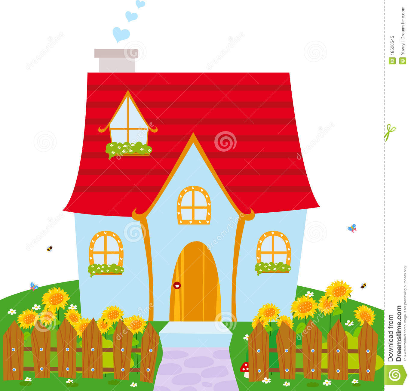 cute house clipart clipart suggest