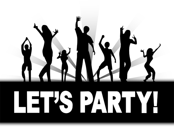 Lets Party Clip Art At Clker Com   Vector Clip Art Online Royalty