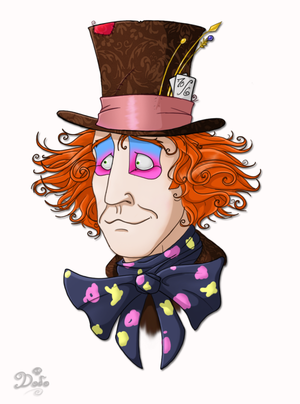 Mad Hatter Hat Clip Art Free