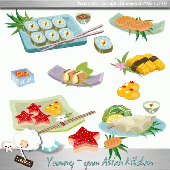 Mygrafico Asian Food Clipart Super Yummy Asian Food Noodles Spring