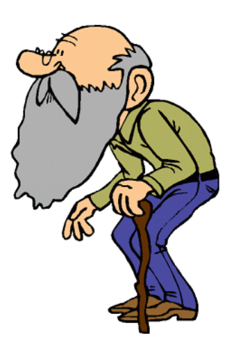 Old People Clipart - Clipart Kid
