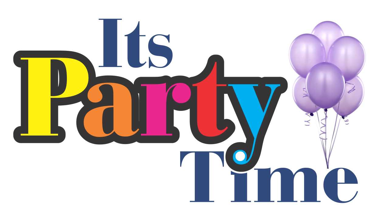 Party Time Sign Party Time Logo Jpg