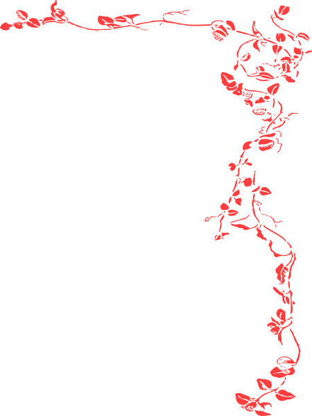 Red Wedding Border Clip Art At Clker Com   Vector Clip Art Online
