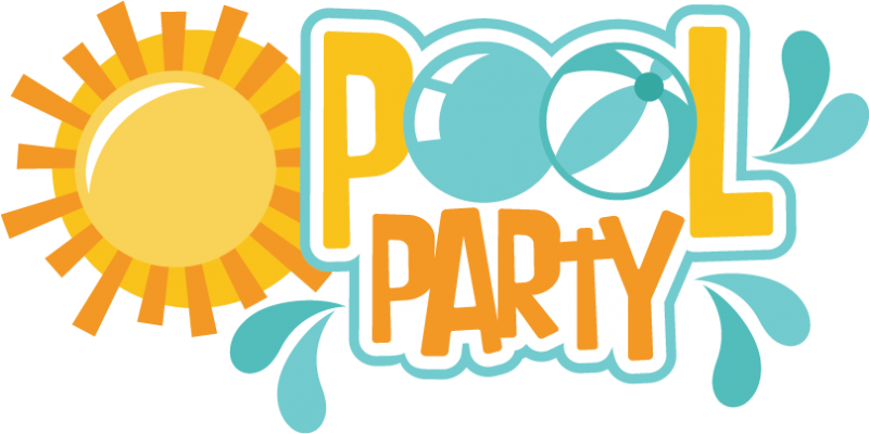 Pool Party Borders Clipart - Clipart Kid