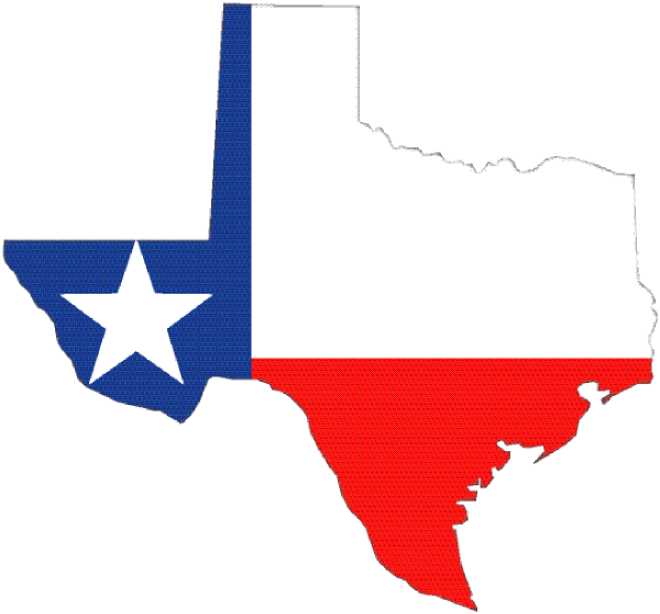 Texas Outline With Flag Clip Art At Clker Com   Vector Clip Art Online