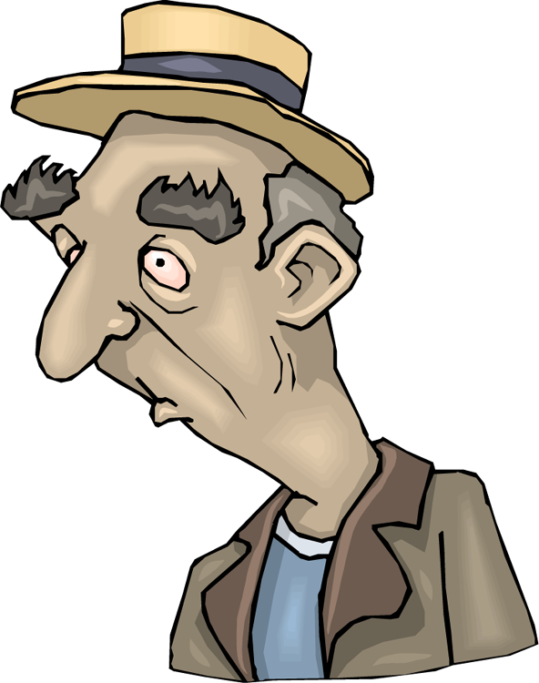 Old Person Clipart - Clipart Kid