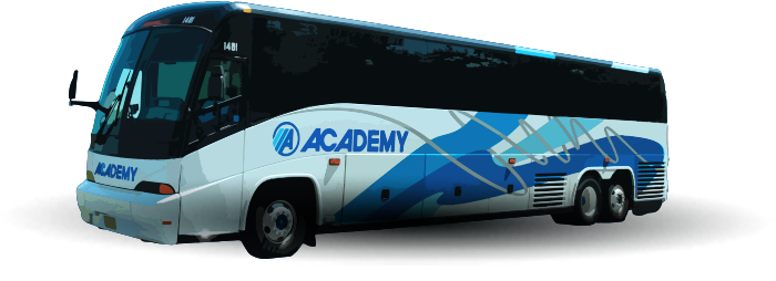 Academy Bus   Charter Bus   Commuter Bus   Casino Bus   Cruise
