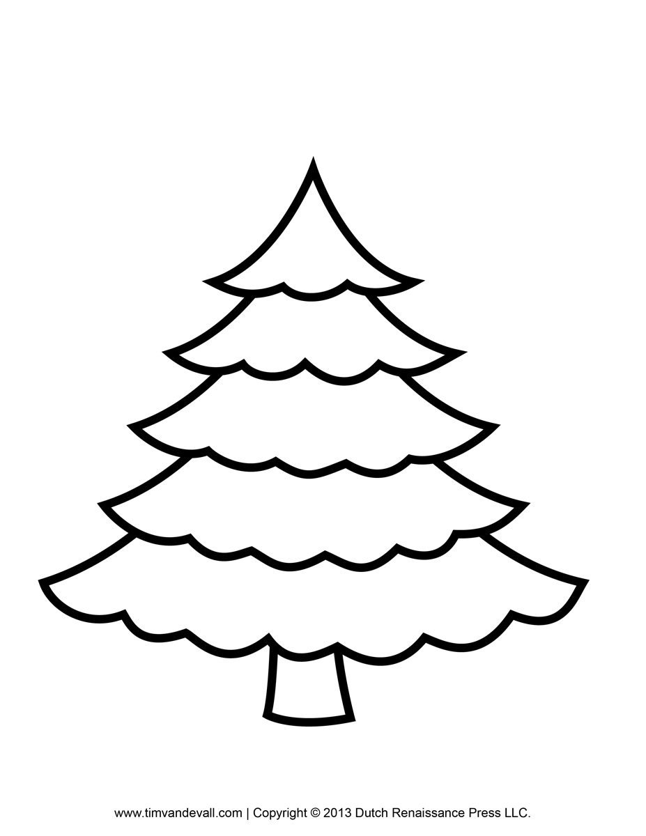 Free Printable Christmas Light Coloring Page