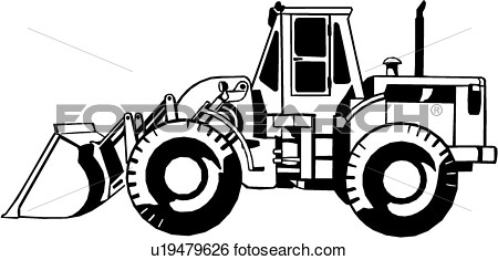 Construction Heavy Equipment Trade   Fotosearch   Search Clipart