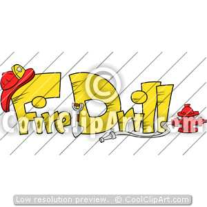 Coolclipart Com   Clip Art For  Fire Drill Emergency   Image Id 112047