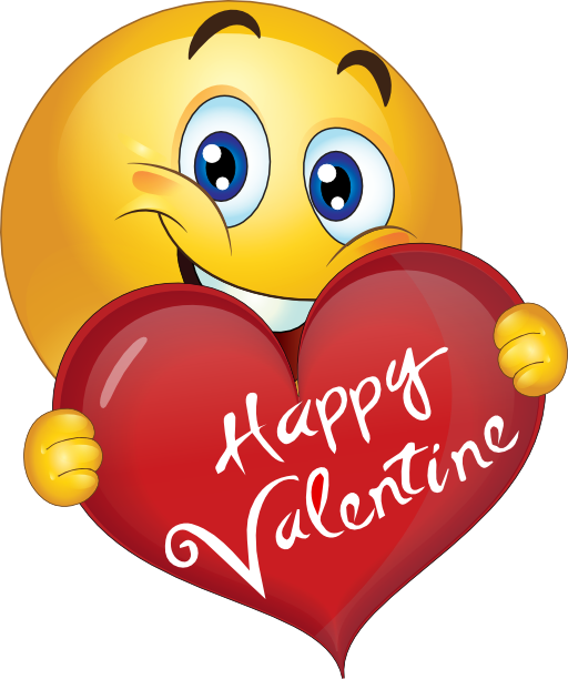 Happy Valentines Clipart Black And White