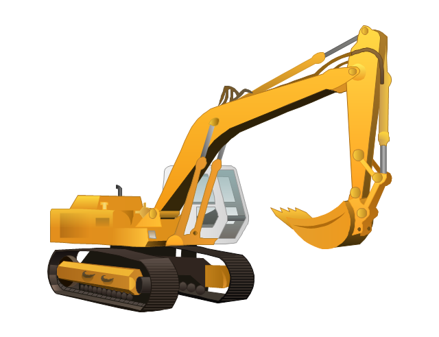 Heavy Equipment Clip Art   Car Interior Design