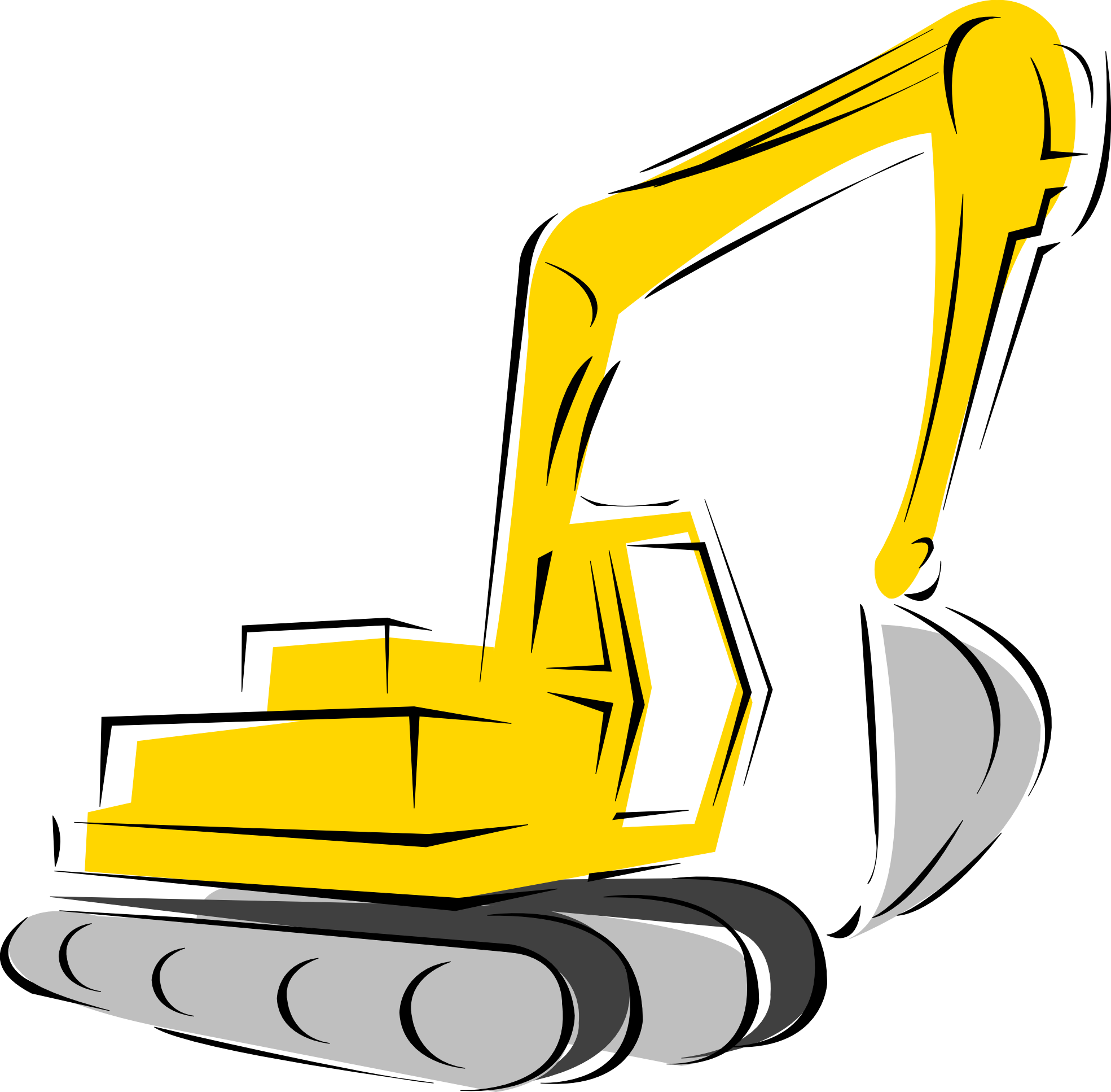 Crane Equipment Clip Art