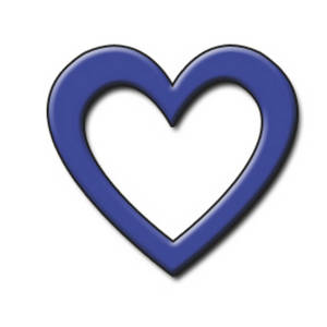 Navy Blue Heart Clipart   Clipart Panda   Free Clipart Images