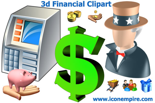 Programming  3d Financial Clipart Demo   Enhance Your Financial Or