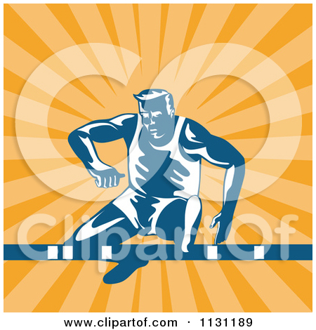 Royalty Free  Rf  Clipart Of Overcoming Obstacles Illustrations