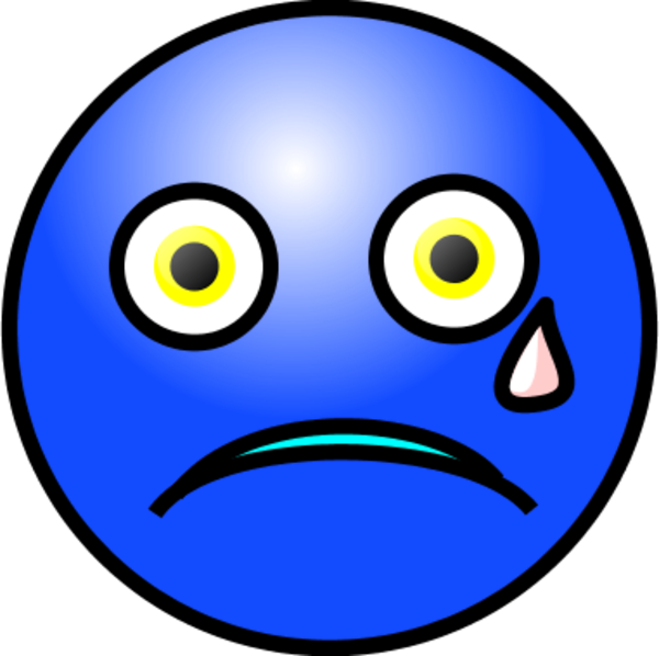 Face With Tears Clipart
