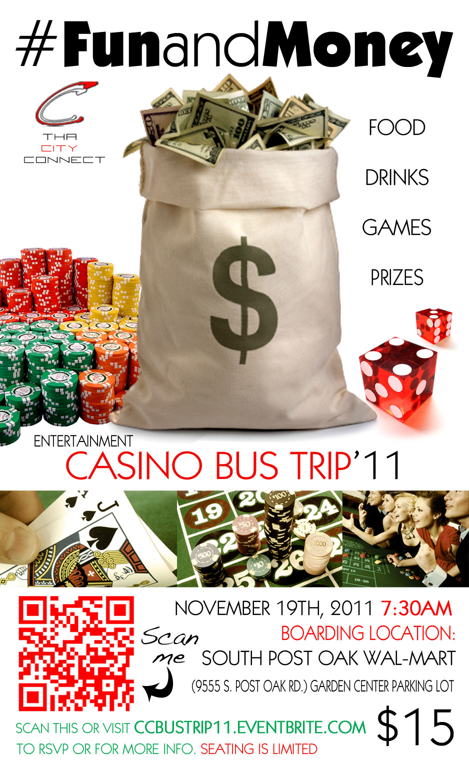 Woof    Casino Bus Trip Flyer   Mario Bross Com