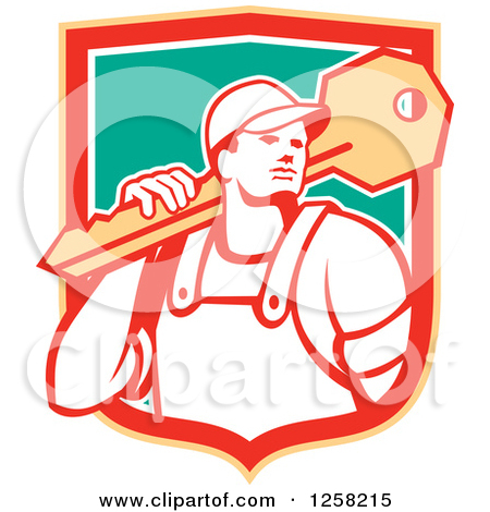 Clipart Angry Red Bull Head With A Ring Royalty Free Vector Picture