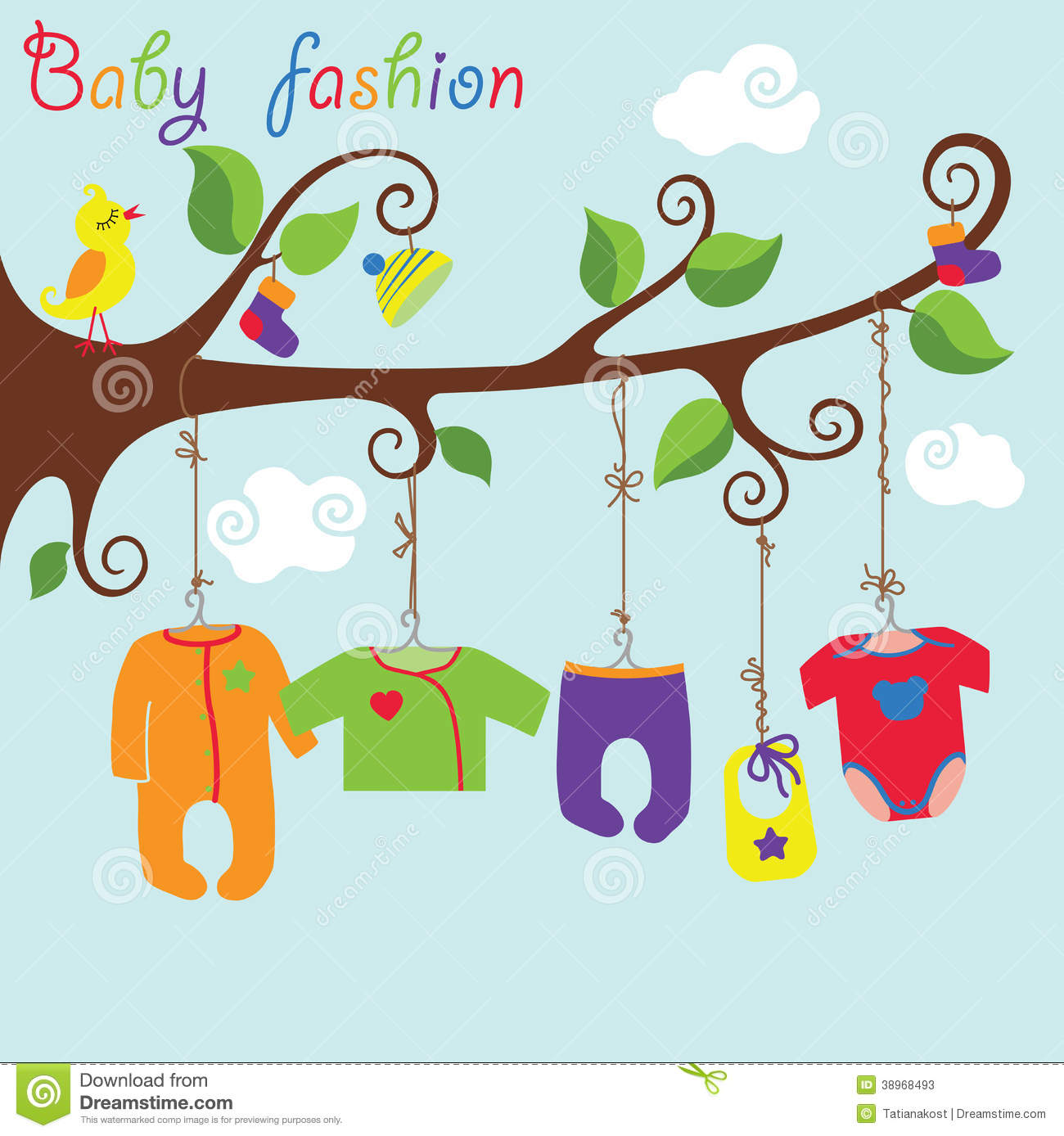 clipart hanging clothes - photo #17