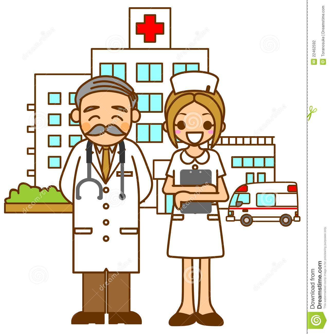 Hospital Doctors And Nurse Stock Photography   Image  22462592