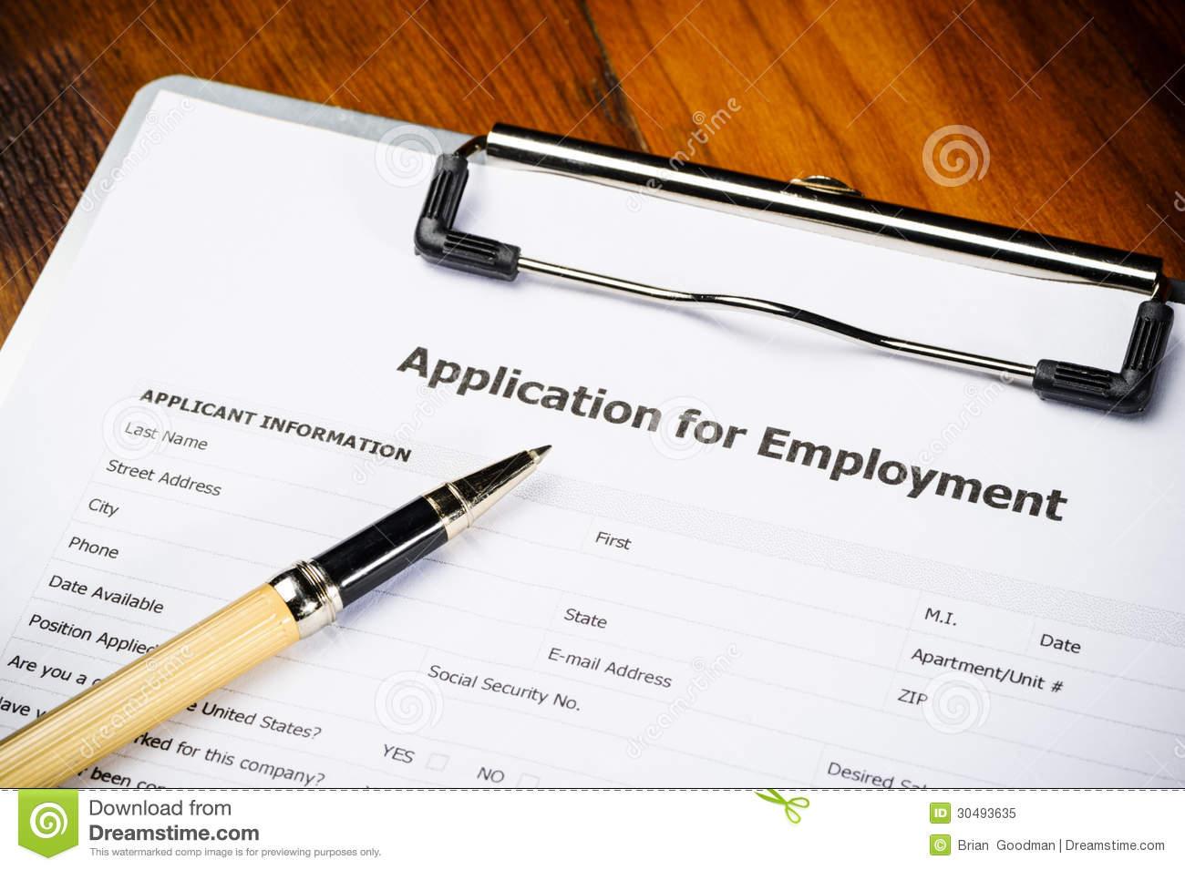 Job Application Clipart Clipart Kid – Job Application