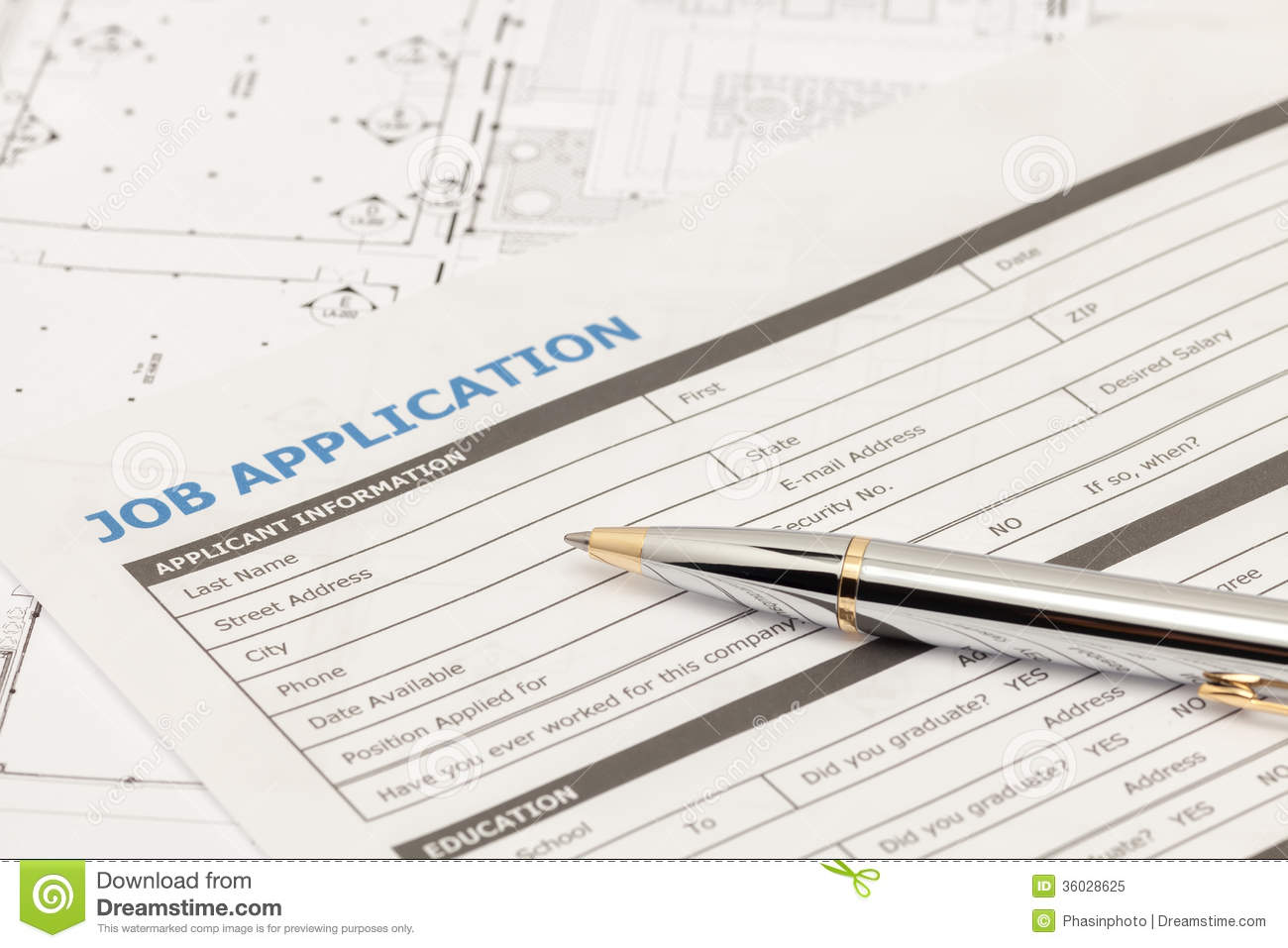 application form clipart clipart kid job application form royalty stock photo image 36028625