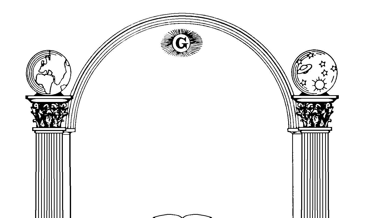 Masonic Pillars Clip Art – Clipart Download