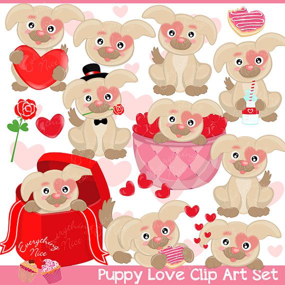 valentine puppy clipart - photo #22