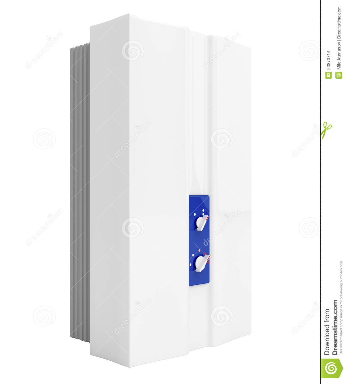 Tankless Water Heater Stock Images   Image  23870714