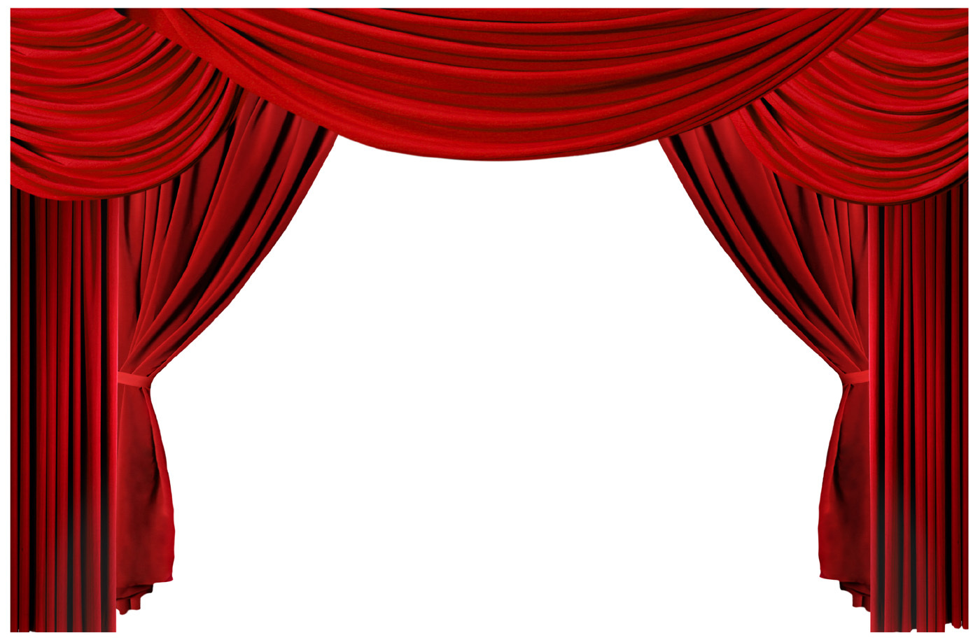 Theater Curtain Clipart - Clipart Kid