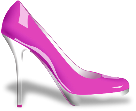 Pink High Heels Clipart - Clipart Kid