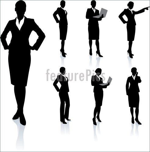 Women Executive Clipart