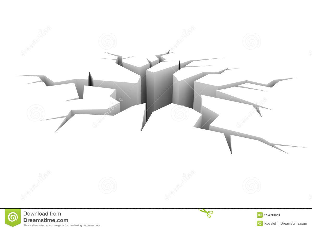 Crack In Ground Clipart - Clipart Suggest