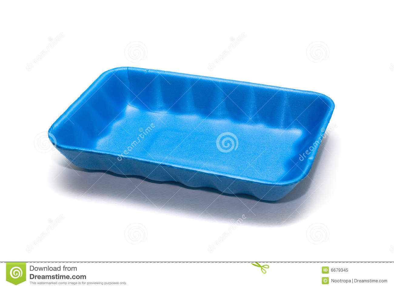 Empty Lunch Tray Clipart Blue Empty Food Container On