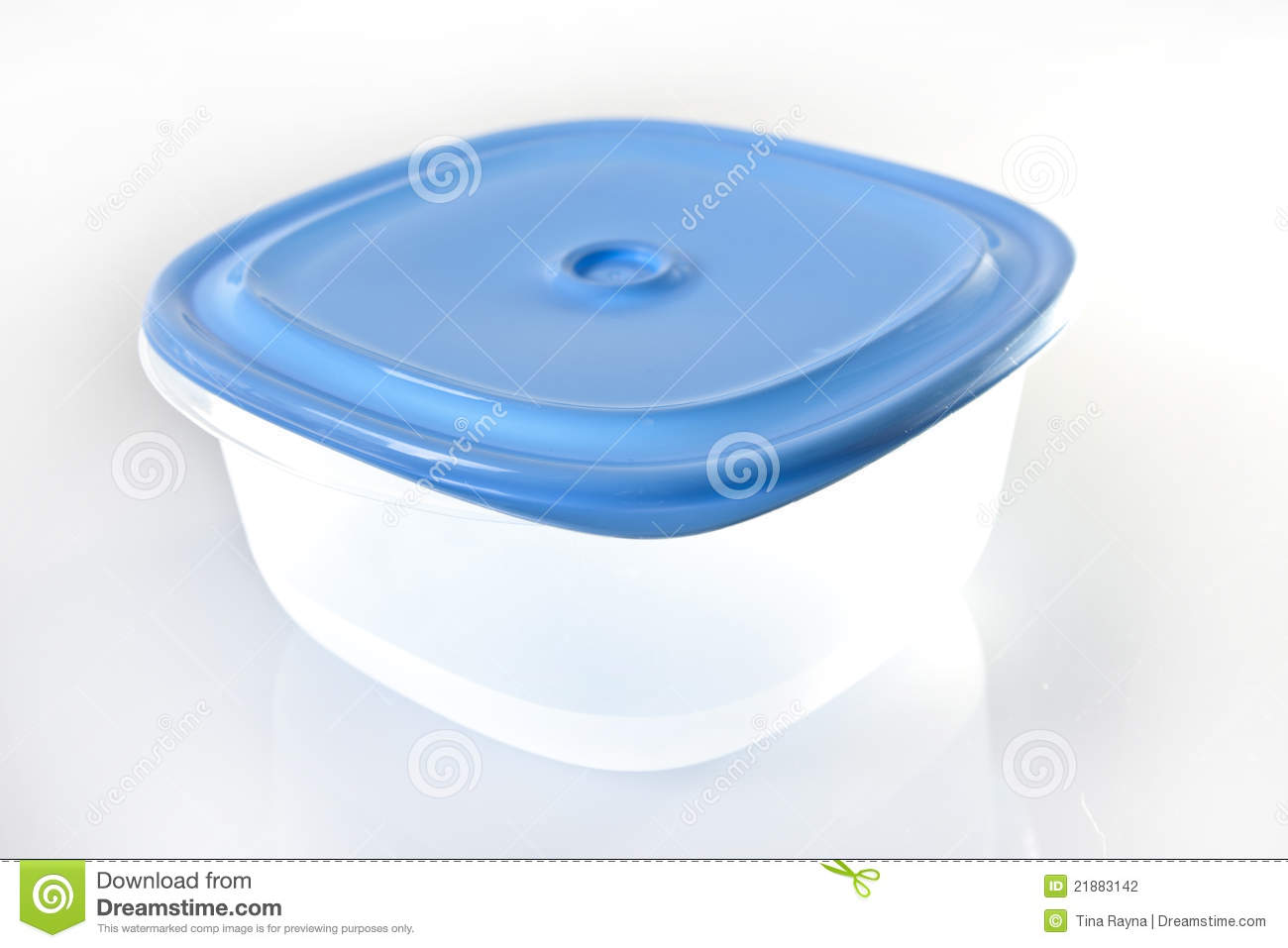 Empty Plastic Food Container Stock Photography   Image  21883142