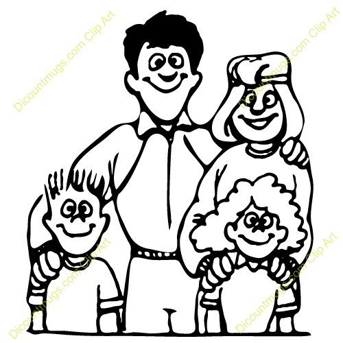 Family Free Clipart Clipart Suggest
