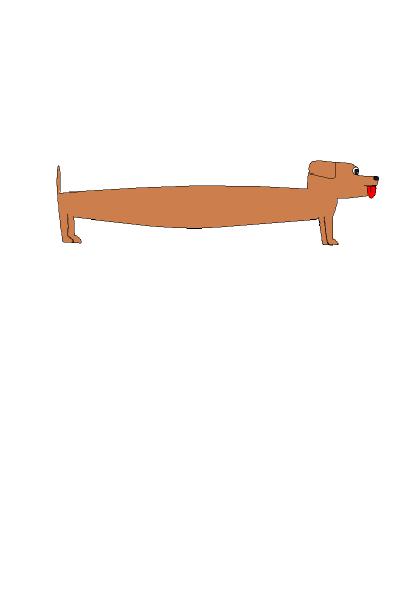 long dog clipart clipart kid