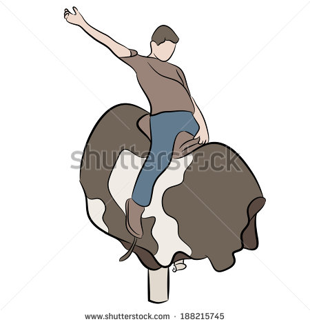 how to stay on the mechanical bull