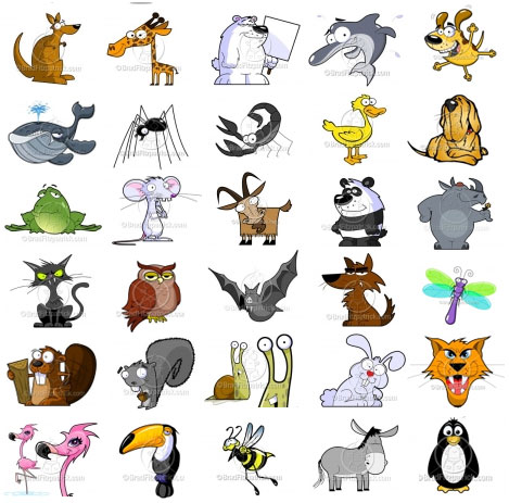 Noisy Animals Quiet Animals Which Animals Do The Following The Barks