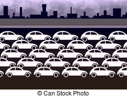 Traffic Jam Illustrations And Clip Art  629 Traffic Jam Royalty Free