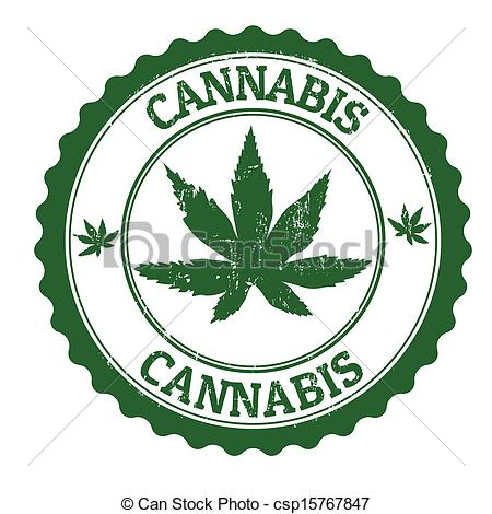 Weed Blunt Clip Art Cannabis Stamp Eps Vector