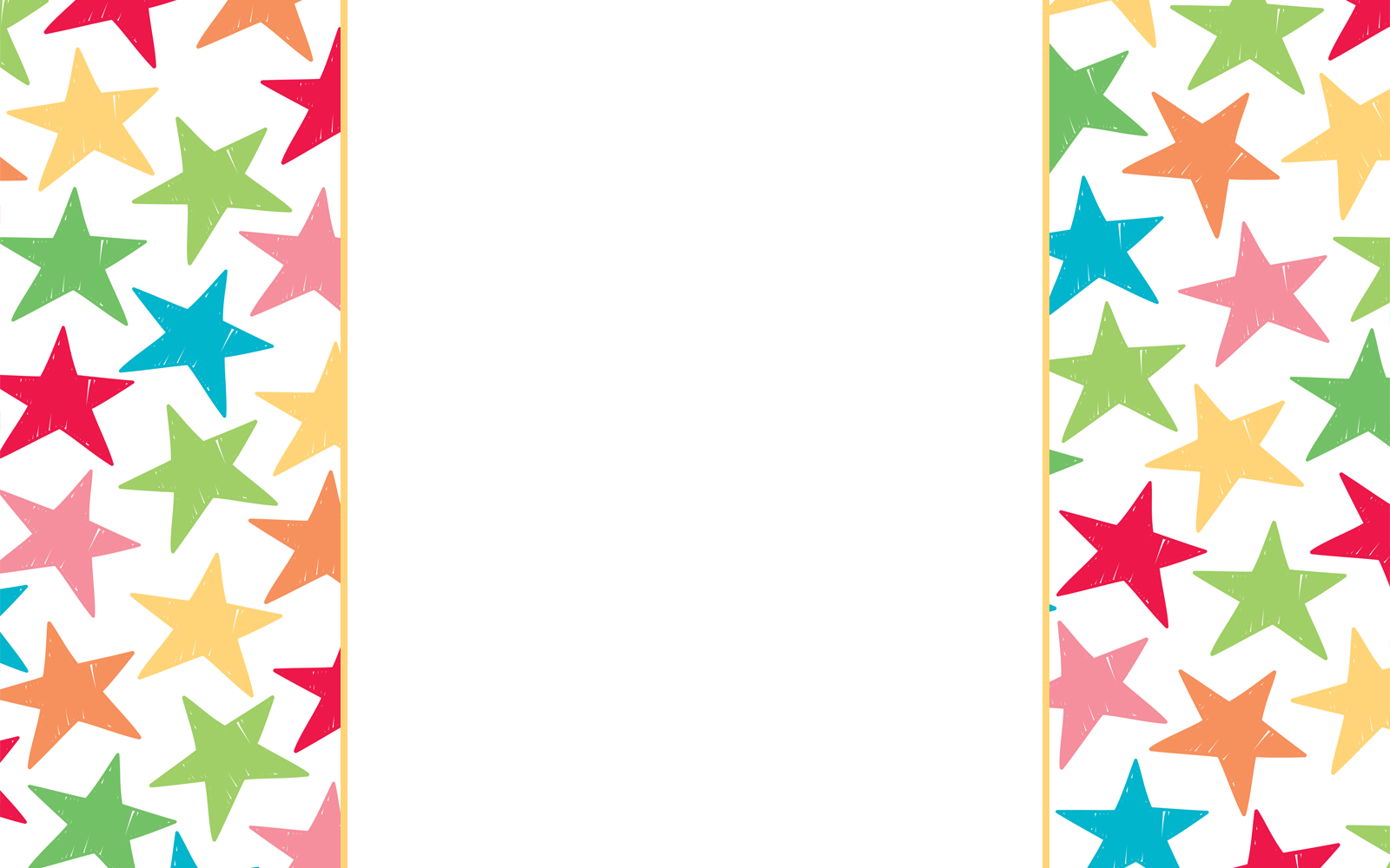 Gold Star Frame Clipart - Clipart Suggest