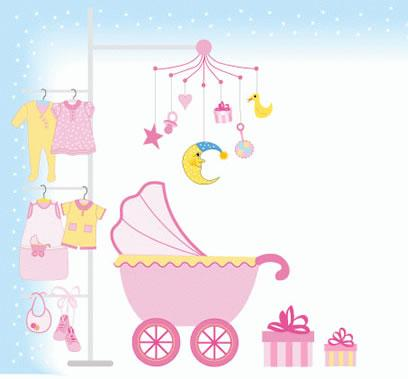 Baby Items Clip Art