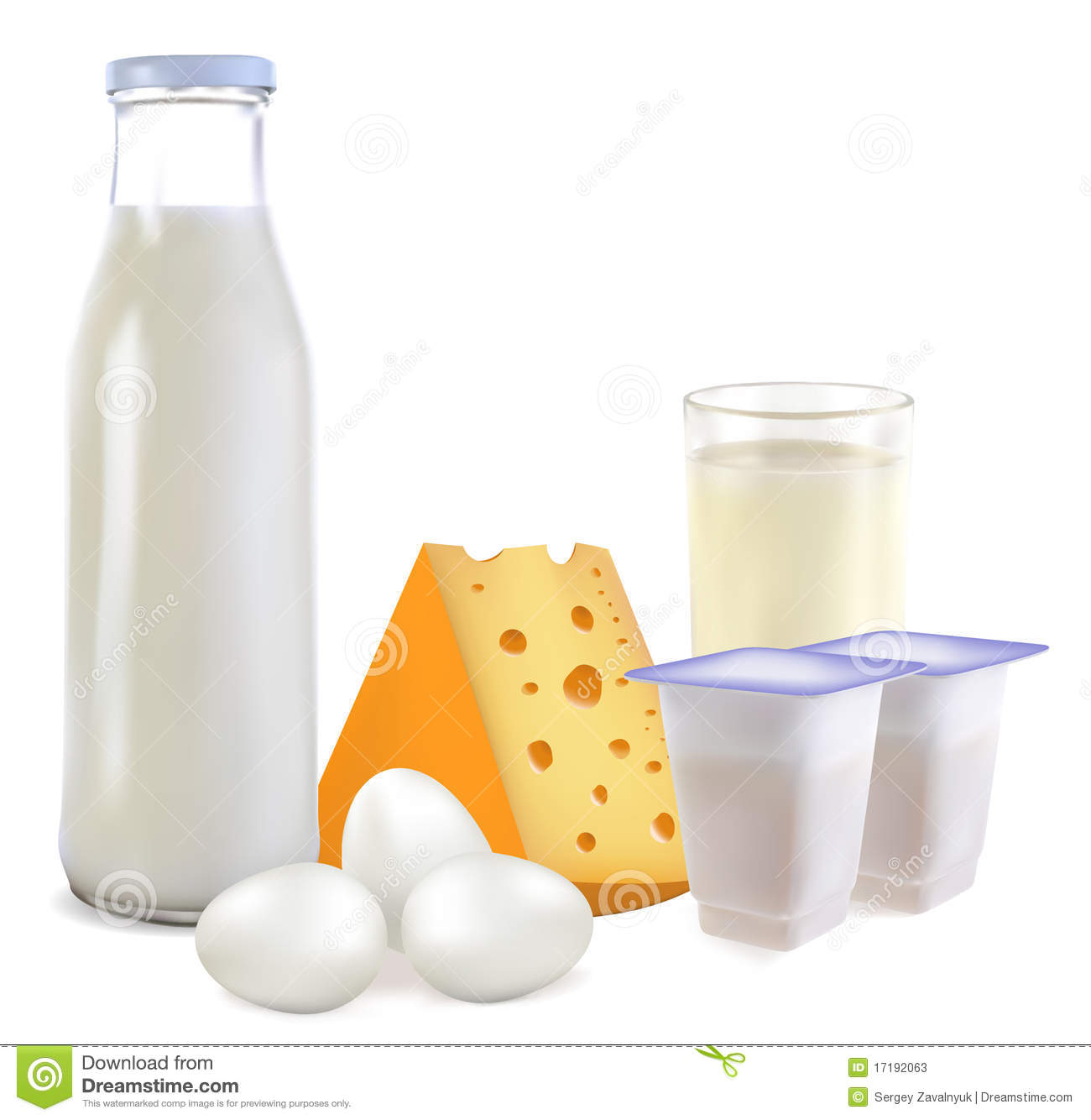 Dairy Products And Eggs Stock Photos   Image  17192063