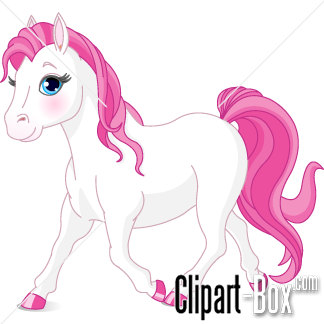 Related Pink Horse Cliparts