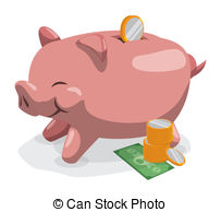 Savings Account Vector Clipart And Illustrations