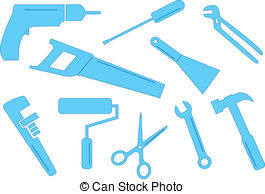 Ten Tool Shapes   A Selection Of Vector Tool Shapes For