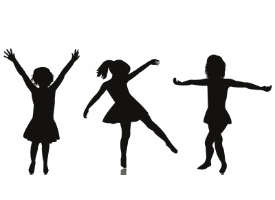11 Girls Silhouette Free Cliparts That You Can Download To You