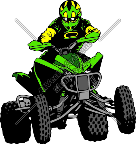 Four Wheeler Clip Art : Muddy four wheeler clipart suggest